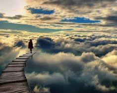 .....passeggiando sulle nuvole