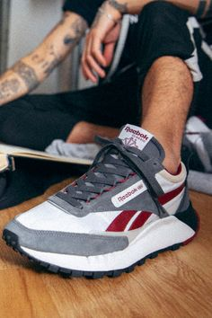 Nike Air Tailwind, Classic Leather, Pics Art, Style Icons, Reebok, Casual Shoes, Trainers, Fashion Shoes, Cool Outfits