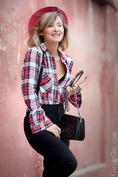 plaid-shirt-with-braces
