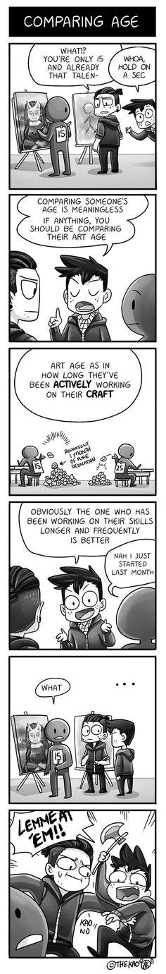 Mondo Mango :: Comparing Age | Tapastic Comics - image 1