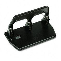 MASTER PROD 40-sheet Capacity Heavy-duty 3-hole Punch with Gel Pad Handle