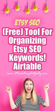 My Favorite (Free) Tool For Organizing My Etsy SEO Key phrases! Airtable , , My Favorite (Free) Tool For Organizing My Etsy SEO Key phrases! Airtable My Favorite (Free) Tool For Organizing My Etsy SEO Key phrases! As an Etsy ve. Best Seo Tools, Free Seo Tools, Seo Marketing, Content Marketing, Online Marketing, Digital Marketing, Seo Tutorial, Etsy Seo, Vídeos Youtube