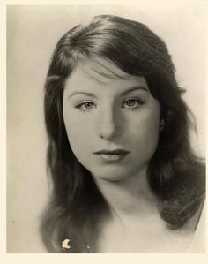 Barbra Streisand when she was Barbara Streisand Hollywood Stars, Classic Hollywood, Old Hollywood, Young Celebrities, Celebs, Barbara Streisand, Shows, Famous Faces, American Singers