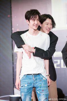 Yibo and Seungyeon Kpop, Cute Love Stories, Kim Sang, Yuehua Entertainment, Korean Bands, Fanarts Anime, Korean Artist, Best Duos, Ulzzang Girl