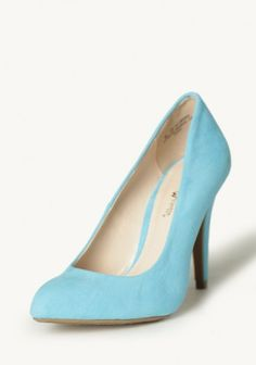 Clear Day Sky Blue Heels