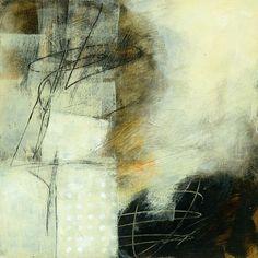 Jane Davies, Neutral #1. Céramiste, peintre et collagiste, l'Américaine Jane Davies emploie divers médiums, notamment l'encaustique, pour explorer la relation entre ligne, couleur et texture, entre le contour et la forme. Elle s'inspire de la nature, modifiée ou non par la main de l'homme.