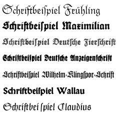 Fraktur fonts by Rudolf Koch Gothic Script, Gothic Fonts, Calligraphy Letters, Typography Letters, German Font, Medieval Font, Roman Alphabet, Schrift Design, Online Fonts