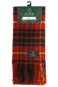 Bruce tartan scarf