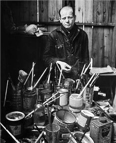 Pollock with tools