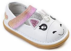 We NEED these Unicorn Shoes! Perfect for a Unicorn Birthday Party!