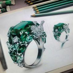 I Paint Hyperrealistic Diamonds