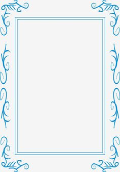 CARATULAS ESCOLARES: CARATULA SENCILLA LINEAS CELESTES Más Borders For Paper, Borders And Frames, Page Borders, Frame Background, Frame Clipart, Prayers, Stationery, 1, Clip Art