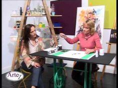 Técnicas en arte abstracto con acuarelas Drafting Desk, Painting, Youtube, Blog, Craft Videos, Watercolor, Abstract Watercolor Art, Watercolor Paintings, Artists