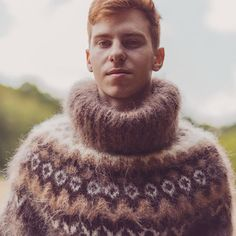 Men's Sweaters, Sweater Outfits, Mittens, Men's Fashion, Turtle Neck, Pullover, Knitting, Unique, Clothes