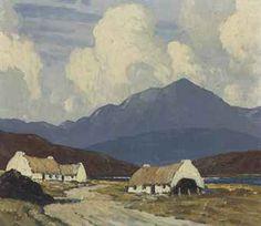 artist paul henry - Irish painter 1877-1958