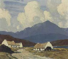artist paul henry - Irish painter 1877-1958