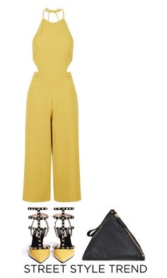 """""""NYFW"""" by toinettetoy ❤ liked on Polyvore featuring Topshop, Valentino, Jil Sander and nyfwstreetstyle"""