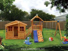 Chipmonk Kindy Gym cubby house, australian-made, kids cubby houses, cubby houses for sale, cubby houses