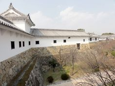 West Bailey vom Himeji Castle in Japan