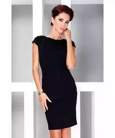 48d800796b5e SAF Dámské šaty Ikona černé Společenské Šaty