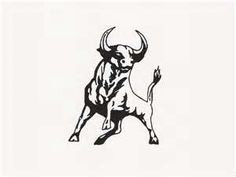 I'd like this on the back of my neck, my dad always says he'd want to be reincarnated as a bull. Perfectly fits his personality.