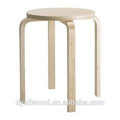 Fashion stackable plywood stool with high quality