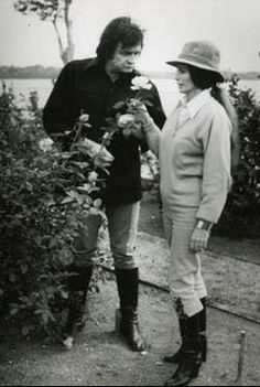 Johnny & June Gardening