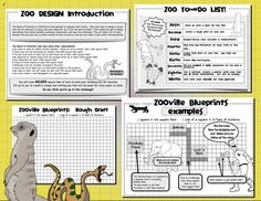 ZOO DESIGN: AREA, PERIMETER, MAP SKILLS, PROJECT BASED LEARNING, & MORE! - TeachersPayTeachers.com