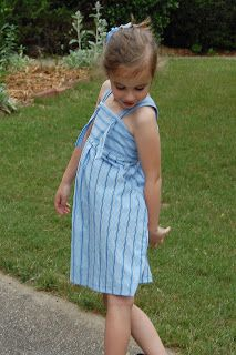 Pinafores & Pinwheels: Project Run & Play ~ Daddy's Little Girl Dress