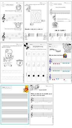 5 Best Images of Free Printable Staff Paper Blank Sheet