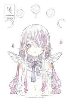 Kawaii Anime, Kawaii Art, Anime Art Girl, Manga Art, Fantasy Kunst, Fantasy Art, Anime Crying, Anime Triste, Cartoon Kunst