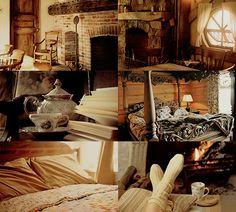 House Common Room aesthetics - Hufflepuff Basement Ravenclaw   Gryffindor   Slytherin