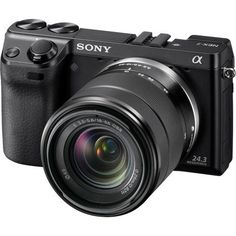 Sony NEX-7 24.3 MP Compact Interchangeable Lens Camera with 18-55mm Lens by Sony, http://www.amazon.com/dp/B005IKZU8O/ref=cm_sw_r_pi_dp_GHiOqb11KV25A