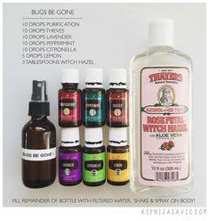 essential oil spray bottle love