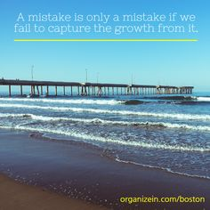 """A mistake is only a mistake if we fail to capture the growth from it."" - Robin Sharma ‪#‎InspirationalQuotes‬"