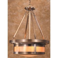 Arroyo Craftsman Berkeley 4 Light Drum Pendant Finish: Satin Black, Shade Color: Frosted