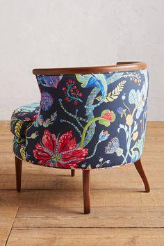 Printed Bixby Chair - anthropologie.com