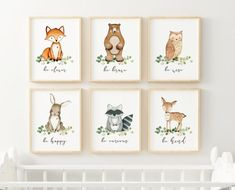 10 Magnificent Techniques For Woodland Nursery Prints, Woodland Nursery Decor, Nursery Room Decor, Nursery Wall Art, Project Nursery, Boy Wall Art, Kindergarten, Kids Room Design, Woodland Animals