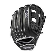 Wilson 12 inch Series Infield Fastpitch Softball Glove, Right Hand Throw, Multi-Color Fastpitch Softball Gloves, Baseball Gear, Baseball Gloves, Fit Back, Hand Designs, Leather Design, Female Athletes, White Leather, Softball Stuff