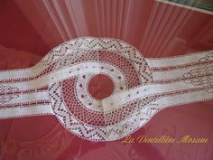 Drawn Thread, Thread Work, Needle Lace, Bobbin Lace, Lacemaking, Lace Heart, Lace Jewelry, Cut Work, Tatting Lace