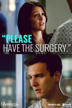 """Please have the surgery."" 