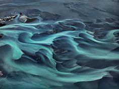 """River water in Iceland.""""These amazing photos will change the way you look at water."""" by Edward Burtynsky Landscape Photography Tips, Aerial Photography, Book Photography, Abstract Photography, Portrait Photography, Photography Tutorials, Digital Photography, Tech Image, Chrysler Museum"""