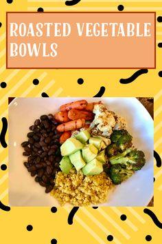 Food Prep, Meal Prep, My Recipes, Gluten Free Recipes, Roasted Vegetables, Veggies, Fajita Seasoning, Vegetable Bowl, Vegan Vegetarian