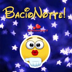 Funny Emoji Faces, Foto Gif, Smile Gif, Italian Quotes, Emoticon, Cartoon Art, Smiley, Good Night, Animated Gif