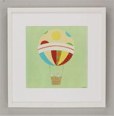 Up, Up & Away IV Framed Art #rosenberryrooms