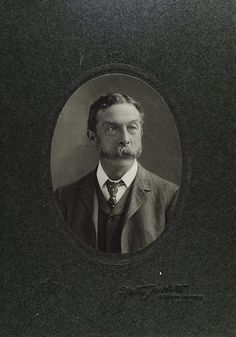 www.pastonpaper.com | Cabinet Card of H Woodward, 1904 Facial Hair, Old Photos, Cabinet, Cards, Old Pictures, Clothes Stand, Face Hair, Vintage Photos, Closet