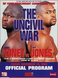 "James ""Lights Out"" Toney vs Roy Jones Jr. Boxing Images, Roy Jones Jr, Boxing Posters, Professional Boxing, World Boxing, Boxing Fight, Boxing Club, Combat Sport, Boxing"