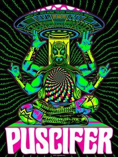 Puscifer Poster Series - zoltron
