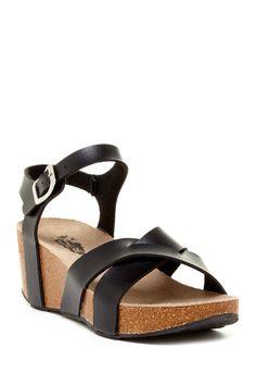 Serene Purisa Wedge Sandal by Serene on @nordstrom_rack