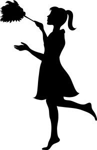 Silhouette Of Woman Dusting 0515 1010 1302 3243 Smu Cinderella Cleaning Cleaning Lady Cleaning Cartoon